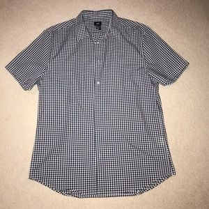 H&M Short Sleeve Button Down Large Shirt